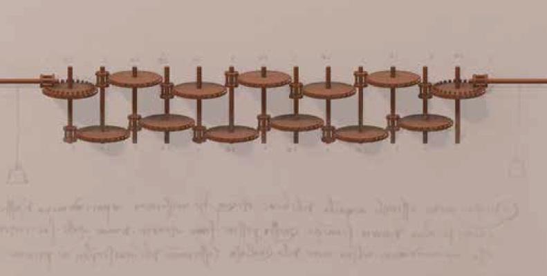Leonardo il Calcolatore: la presentazione della ricostruzione della  calcolatrice progettata da Leonardo da Vinci