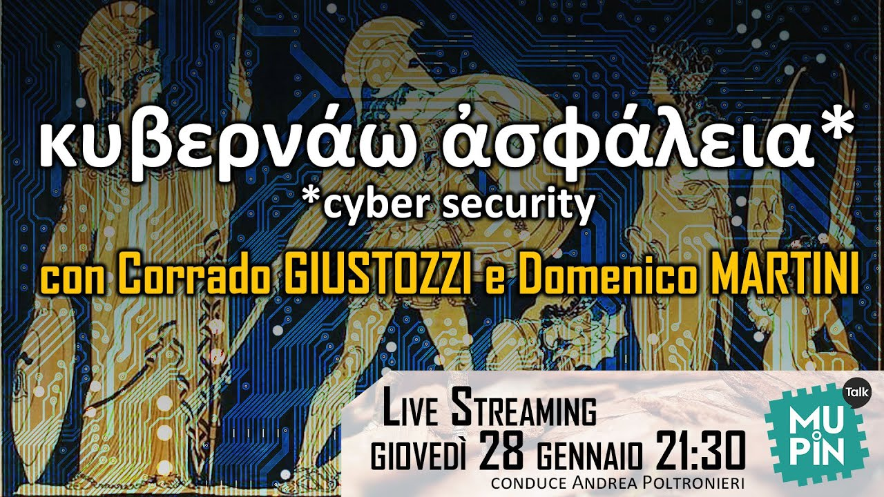 Mupin Talk S2E5 – κυβερνάω ἀσφάλεια (cyber security)