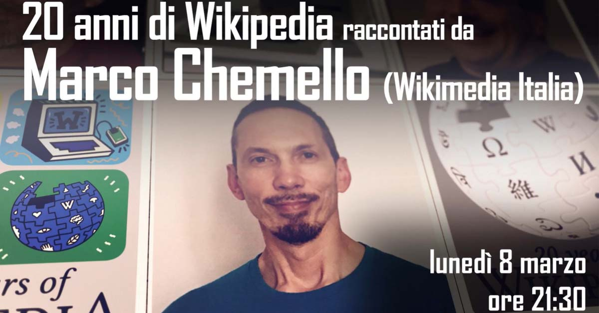 20 anni di Wikipedia