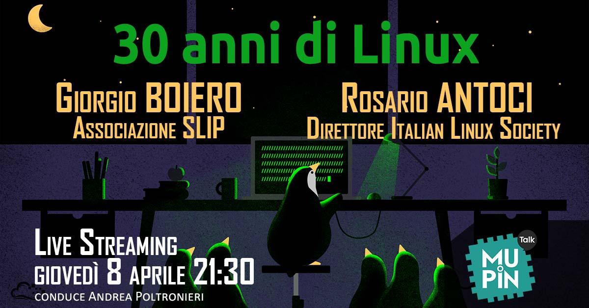 30 anni di Linux