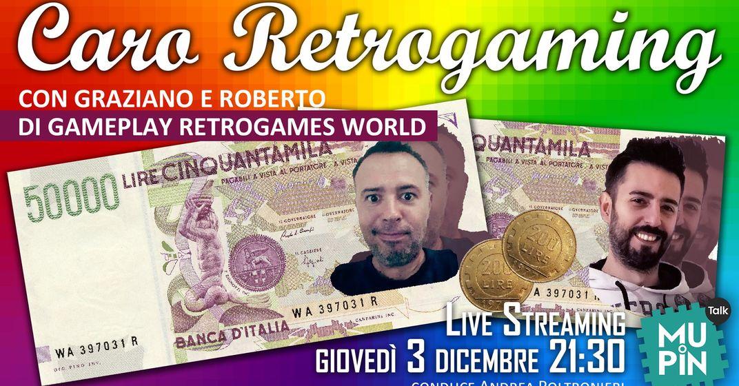 Caro Retrogaming con Gameplay Retrogames World