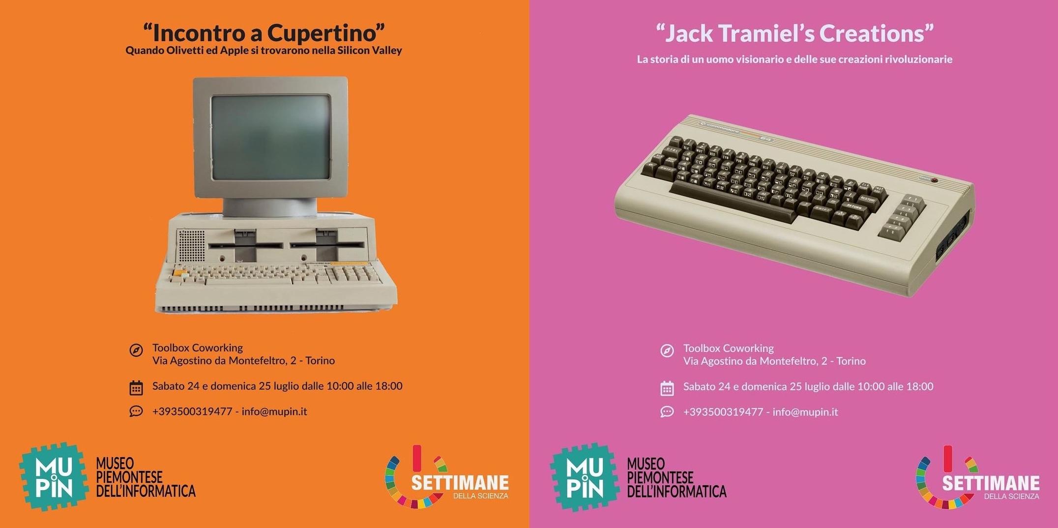 Mupin riparte a fine luglio con le mostre Incontro a Cupertino e Jack Tramiel's Creations